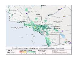 Map Of San Diego Zip Codes by California Adds 82 600 Jobs In July Isea