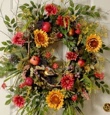 Sunflower Mesh Wreath Sunflower Garden U201d How To Make Ladybug Wreaths By Nancy Alexander