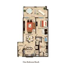 suite layouts garza blanca residence club one bedroom studio units