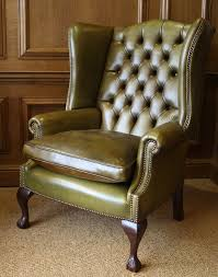 Leather Wingback Chair Leather Chairs Of Bath Chelsea Design Quarter Leather Wing Chair