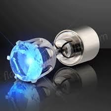 led earrings light up led earrings by blinky lights