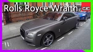 matte rolls royce rolls royce wraith whole black matt in london youtube