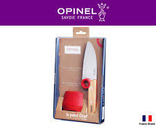 opinel kitchen knives review opinel le petit chef set 001746 ebay