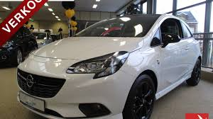 opel white opel corsa black u0026 white edition 1 0 turbo 90pk opc line youtube
