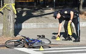 kid cyclist critically injured in helmet shattering kensington car