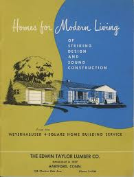 Small Home Construction Homes For Modern Living 1950s House Plans Post Wwii Small Home