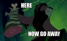 Go Away Meme - here now go away reaction images know your meme