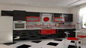 and red kitchen design white and red kitchen cabinets sets as well