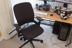 my steelcase leap chair fixed my crappy posture the tech report