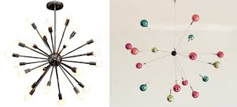 diy christmas ornament sputnik mobile chandelier from old brand