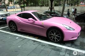 sorry ferrari won u0027t paint your car pink bans color from lineup