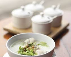 cuisine coriandre recette soupe de riz au poulet et coriandre façon vietnamienne