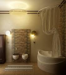 vintage bathroom lighting ideas brown brazilian cherry wood