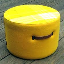 Yellow Ottoman Storage Yellow Ottoman Bench Etechconsulting Co
