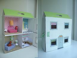 Free Miniature Dollhouse Plans by 13 Cardboard Dollhouse Plans Guide Patterns