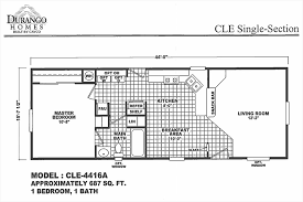 Cavco Floor Plans Move In Ready Home 16x44 Cavco