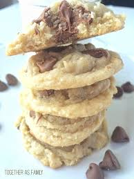 our favorite thick u0026 soft chocolate chip cookies together as