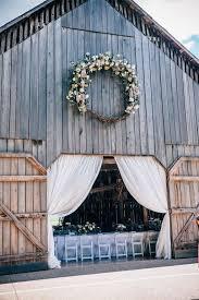 Long Farm Barn Wedding Best 25 Barn Door Wedding Ideas On Pinterest Wedding Reception