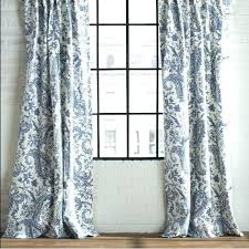 Blue Paisley Curtains Paisley Curtain Panels Inspiration Of Blue And Curtains And
