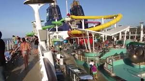 Ncl Epic Deck Plan 9 by Ncl Epic Cruise Top Deck Ocho Rios Jamaica Youtube