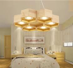Ceiling Lights For Sitting Room Modern Wooden Cellular Hexagon Led Ceiling Light Sitting Room