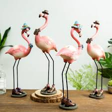 pink flamingo home decor pink flamingo resin home decor figurine accessory just pink about it