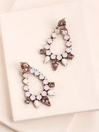 Cascading Bead Chandelier Earrings Express Fashion Earrings Statement Earrings Studs U0026 Drops U2013 Olive Piper