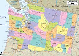 Washington On The Map by Washington Map Free Large Images