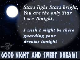 Really Sweet Love Quotes For Her night and sweet dreams