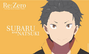 subaru anime character subaru natsuki from re zero illustration hd wallpaper wallpaper flare
