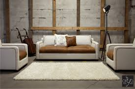 furniture white pottery barn sleeper sofa with white ottoman and