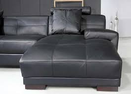 modern black and white leather sectional sofa omega modern black leather sectional sofa sectionals