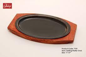 sizzle plate sizzling platter cast iron sizzling platter sizzling plate