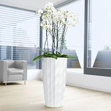 White Pedestal Flower Stand Pedestal Plant Stands Indoor New Interiors Design For Your Home