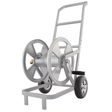 garden hose cart with wheels home outdoor decoration