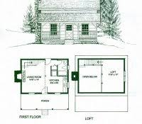 small cabin floorplans free small cabin blueprints 1 bedroom with loft floor plans