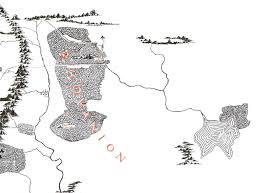 Map Of Mordor Where Did The Old Forest Road In Mirkwood Lead To Middle Earth