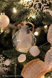 easy homemade ornaments all things heart and home
