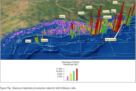 Map Of Gulf Of Mexico by Production Rates Deepwater Gulf Of Mexico America U0027s
