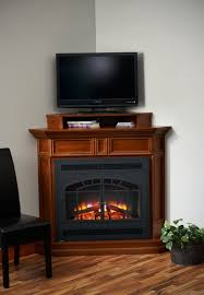 small corner fireplace electric home design ideas