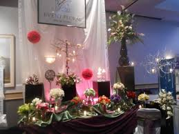 wedding expo backdrop bridal shows event floral special event floral and design studio
