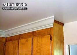crown moulding on kitchen cabinets how to install crown molding on kitchen cabinets how to install