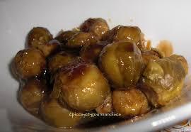 cuisiner choux choux de bruxelles sauce miel de soja épices et gourmandises