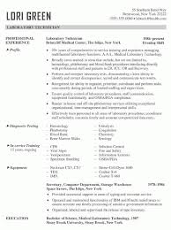 Medical Laboratory Technologist Resume Sample by Medical Laboratory Technician Resume Sample Resume Examples 2017