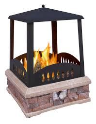 home depot gas fire pit black friday amazon com landmann 22812 grandview outdoor gas fireplace