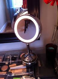 conair led lighted mirror conair makeup mirror model be6sw home design ideas