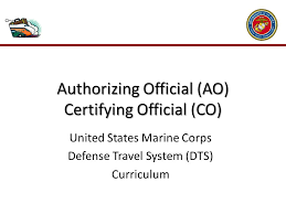 usmc dts help desk introduction as an authorizing official ao you ppt download