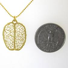 small gold necklace images Brain gold necklace delftia science jewelry jpg