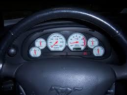 mustang custom gauges black cat custom gauges the mustang source ford mustang forums