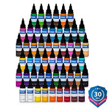intenze color tattoo ink sets tagged